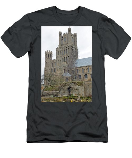 West Tower Of Ely Cathedral  Men's T-Shirt (Athletic Fit)