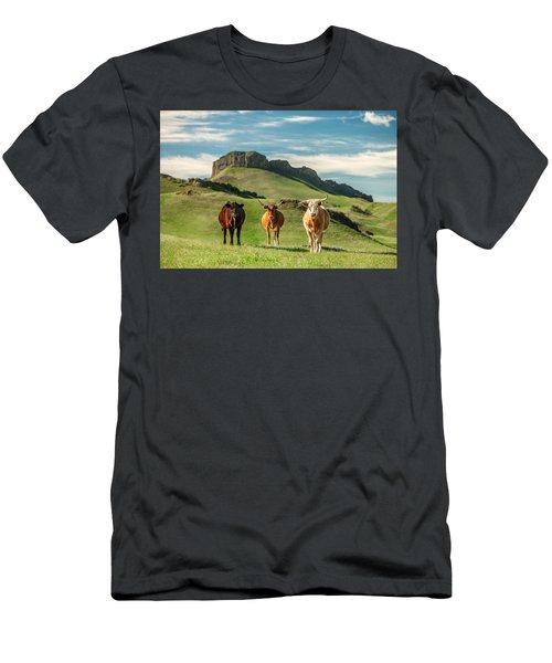 Western Longhorns Men's T-Shirt (Athletic Fit)