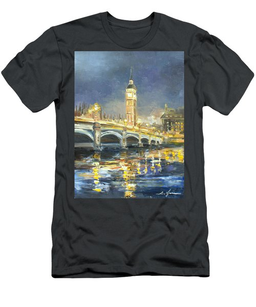 Westminster Bridge Men's T-Shirt (Athletic Fit)