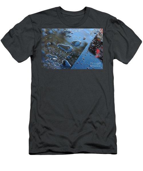 Wet Car Men's T-Shirt (Slim Fit) by Randi Grace Nilsberg
