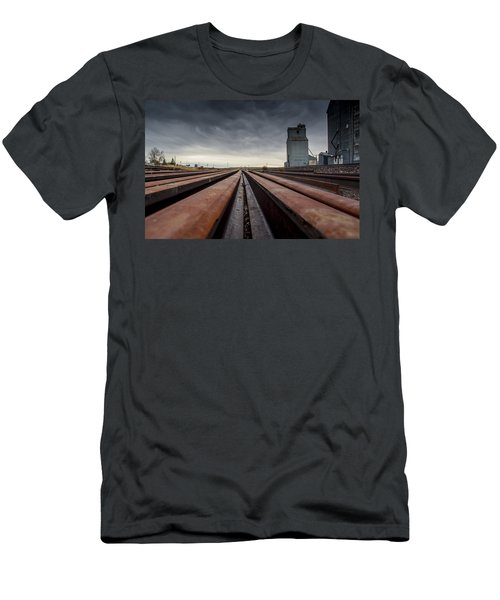 Where It Goes-2 Men's T-Shirt (Athletic Fit)