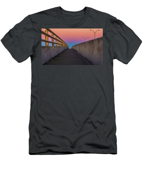 Men's T-Shirt (Athletic Fit) featuring the photograph Where Too by Tyson Kinnison