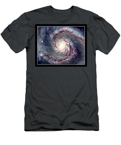 Whirlpool Galaxy Nasa Men's T-Shirt (Athletic Fit)