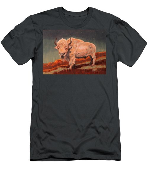White Buffalo Nocturne Men's T-Shirt (Athletic Fit)