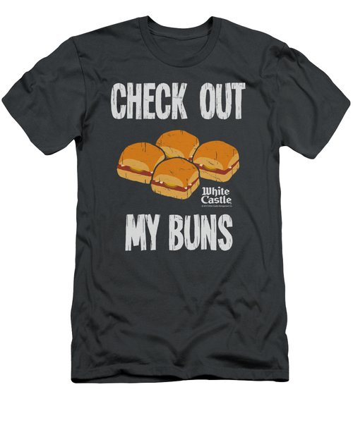 White Castle - My Buns Men's T-Shirt (Athletic Fit)