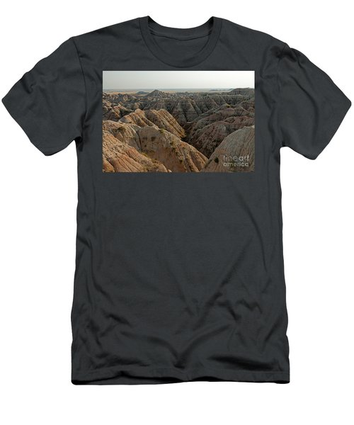 White River Valley Overlook Badlands National Park Men's T-Shirt (Athletic Fit)