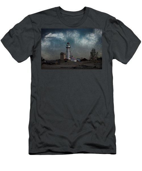 Whitefish Point Lighthouse Lake Superior Men's T-Shirt (Athletic Fit)