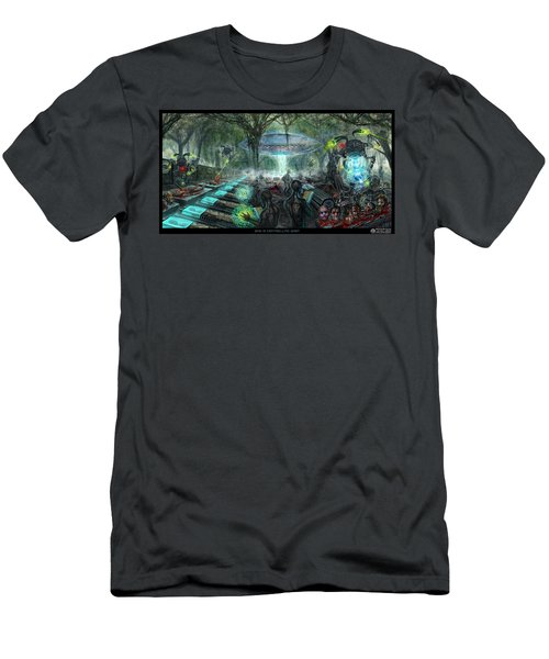 Who Is Controlling Who Men's T-Shirt (Athletic Fit)