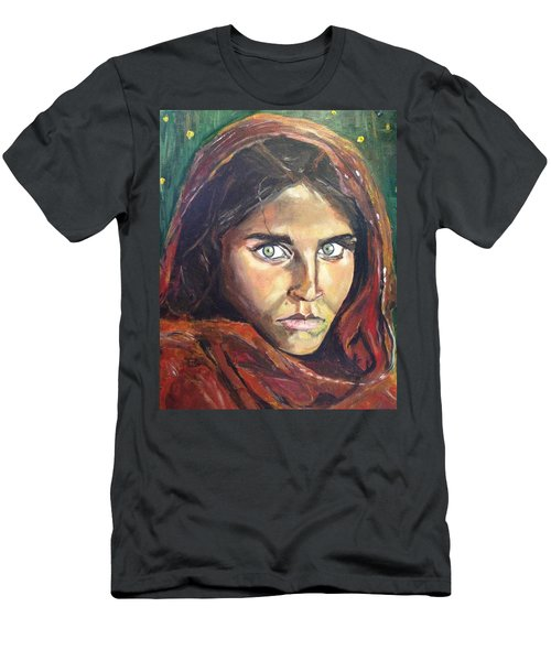 Who's That Girl? Men's T-Shirt (Slim Fit) by Belinda Low
