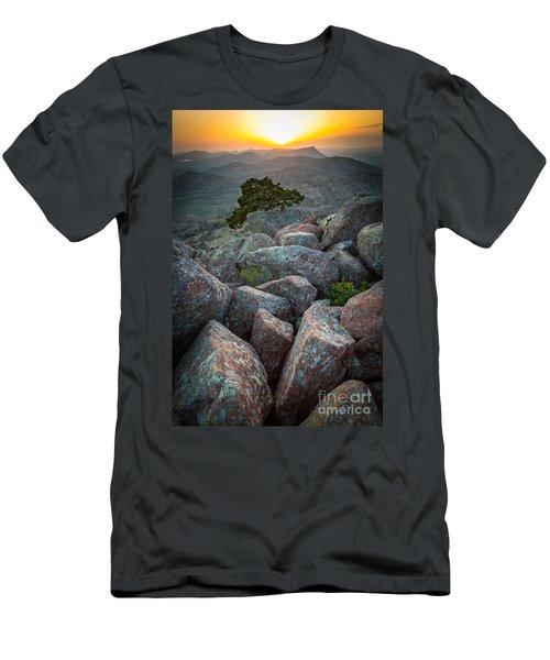 Wichita Mountains Men's T-Shirt (Athletic Fit)