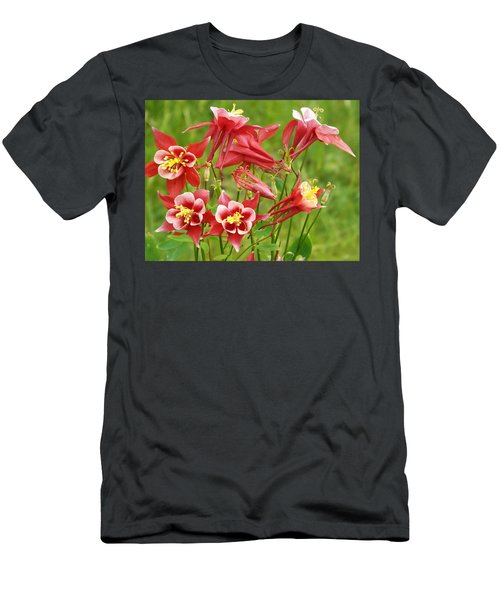 Wild Columbine 2 Men's T-Shirt (Athletic Fit)