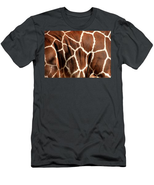 Men's T-Shirt (Athletic Fit) featuring the photograph Wildlife Patterns  by Aidan Moran