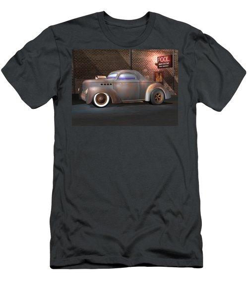 Willys Street Rod Men's T-Shirt (Athletic Fit)