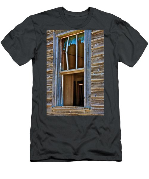 Window With A Light Men's T-Shirt (Athletic Fit)