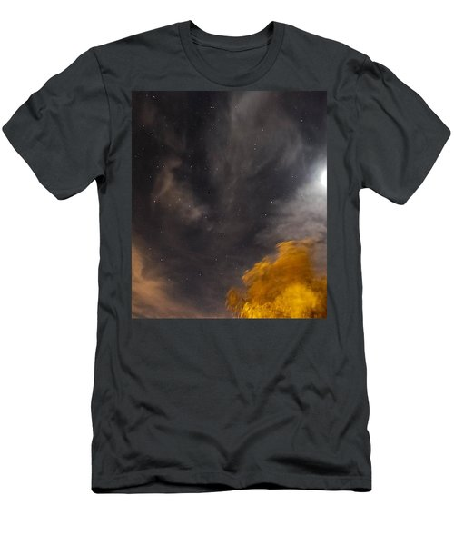 Windy Night Men's T-Shirt (Slim Fit) by Angela J Wright