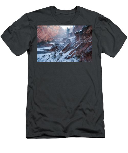 West Fork Windy Winter Men's T-Shirt (Athletic Fit)