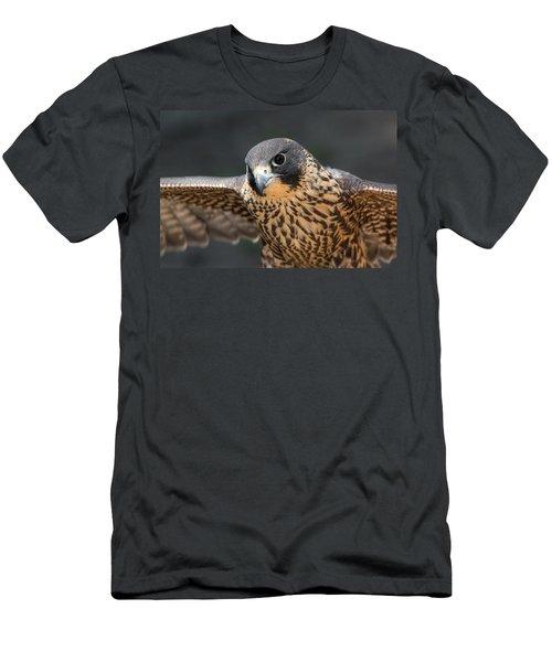 Winged Portrait Men's T-Shirt (Athletic Fit)