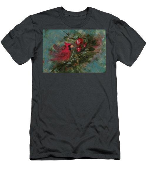 Winter Berries Men's T-Shirt (Athletic Fit)
