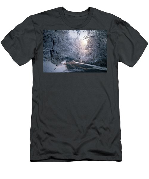 Winter Drive Men's T-Shirt (Athletic Fit)