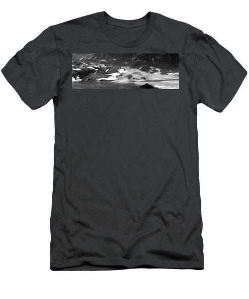 Winter Falls Men's T-Shirt (Slim Fit) by Jim Brage