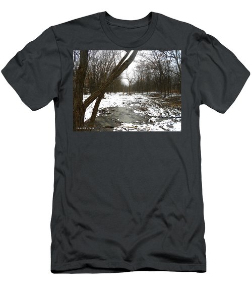 Winter Forest Series Men's T-Shirt (Athletic Fit)