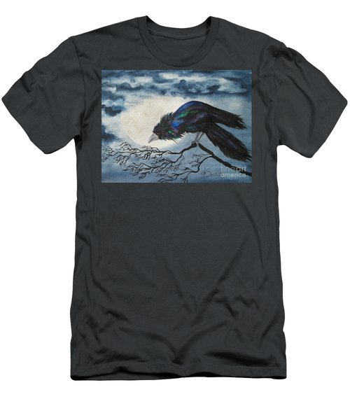 Men's T-Shirt (Athletic Fit) featuring the painting Winter Is Coming by Diane DeSavoy