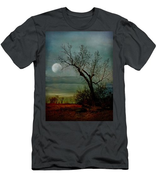 Winter Moon Men's T-Shirt (Athletic Fit)
