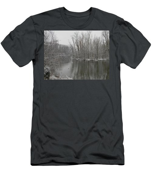 Winter Reflections 1 Men's T-Shirt (Athletic Fit)