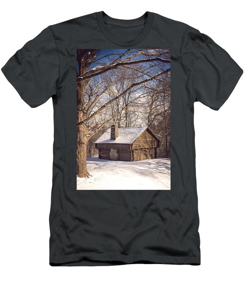 Winter Retreat Men's T-Shirt (Athletic Fit)