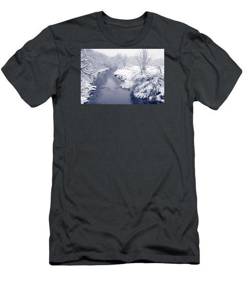 Winter River Men's T-Shirt (Athletic Fit)