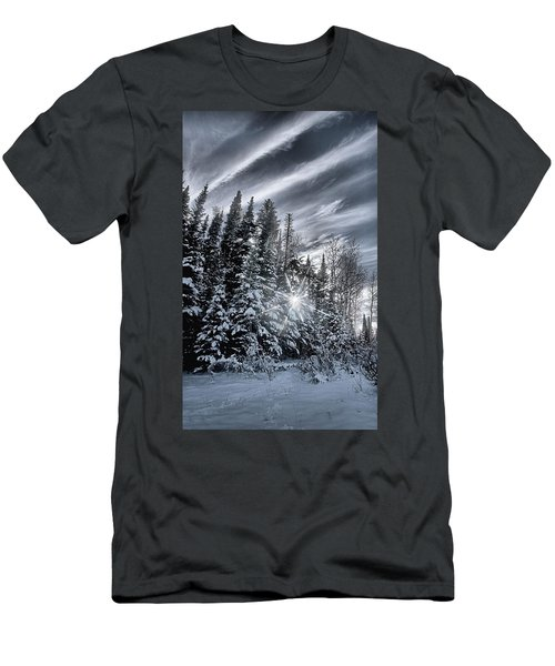 Winter Star Men's T-Shirt (Athletic Fit)