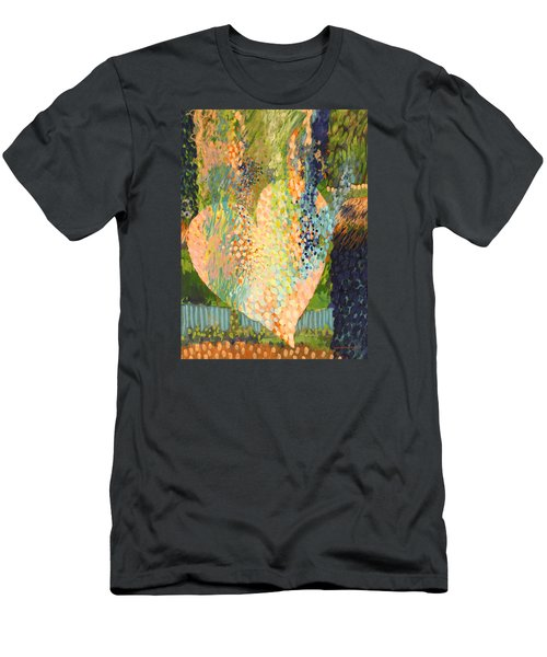 Winter To Spring Men's T-Shirt (Slim Fit) by Lynda Hoffman-Snodgrass