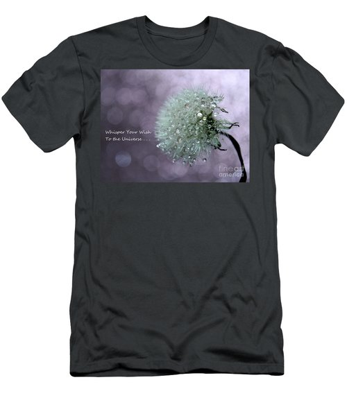 Wish To The Universe Men's T-Shirt (Athletic Fit)