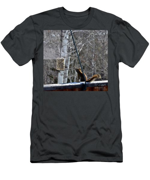 Men's T-Shirt (Athletic Fit) featuring the photograph Wishin' 'n Hopin' by Dorrene BrownButterfield