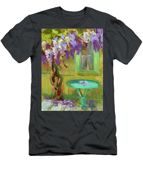 Wisteria At Hotel Baudy Men's T-Shirt (Athletic Fit)