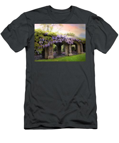 Wisteria In May Men's T-Shirt (Athletic Fit)