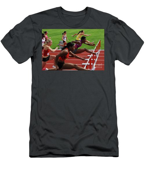 Womens Hurdles 3 Men's T-Shirt (Athletic Fit)
