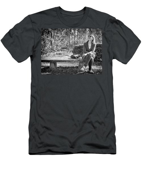 Men's T-Shirt (Athletic Fit) featuring the photograph Wonder by Howard Salmon