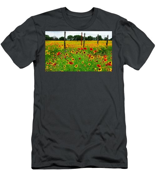 Wonderful Wildflowers Men's T-Shirt (Athletic Fit)