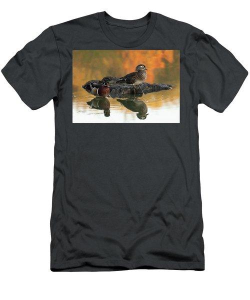 Wood Ducks Men's T-Shirt (Athletic Fit)