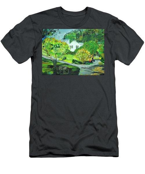 Wooden Duck Inn Men's T-Shirt (Athletic Fit)