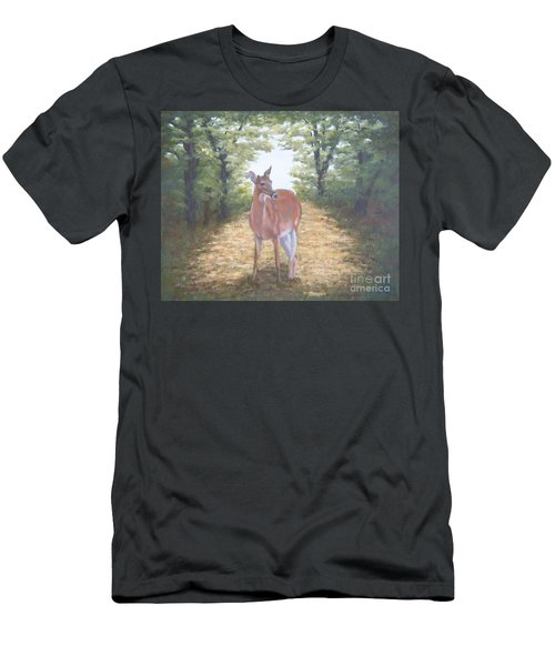 Woodland Encounter Men's T-Shirt (Athletic Fit)
