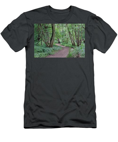 Woodland Path  Men's T-Shirt (Athletic Fit)