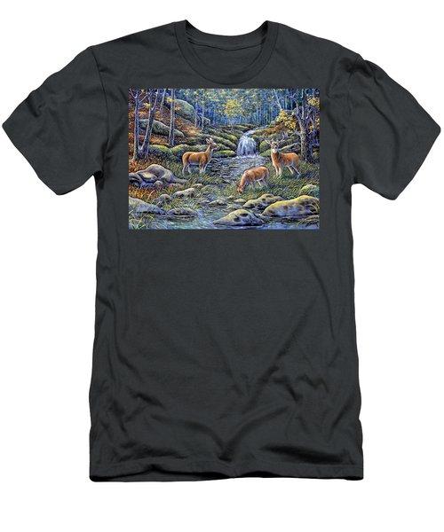 Woodland Sanctuary Men's T-Shirt (Athletic Fit)