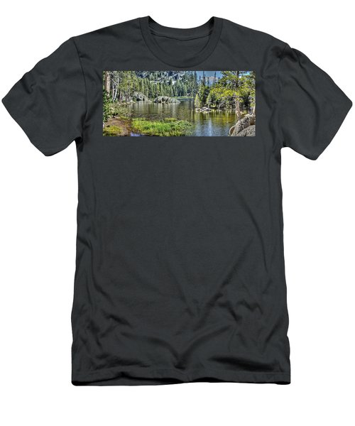Woods Lake 2 Men's T-Shirt (Athletic Fit)