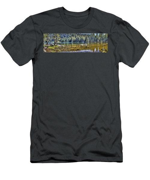 Woods Lake 3 Men's T-Shirt (Athletic Fit)