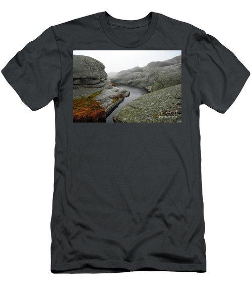 World's End 1 Men's T-Shirt (Slim Fit) by Randi Grace Nilsberg