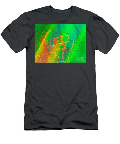 Write Light Rainbow Men's T-Shirt (Athletic Fit)