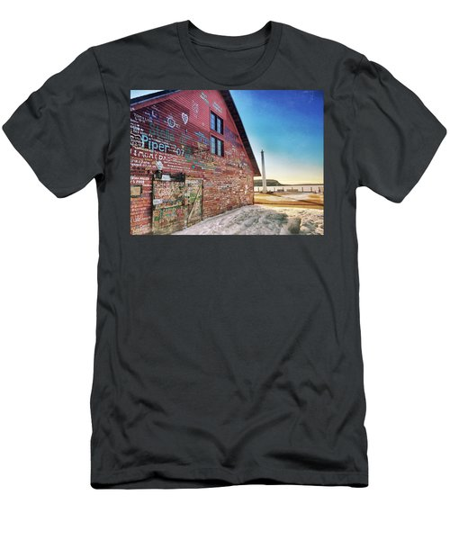 Writing On The Wall Men's T-Shirt (Athletic Fit)