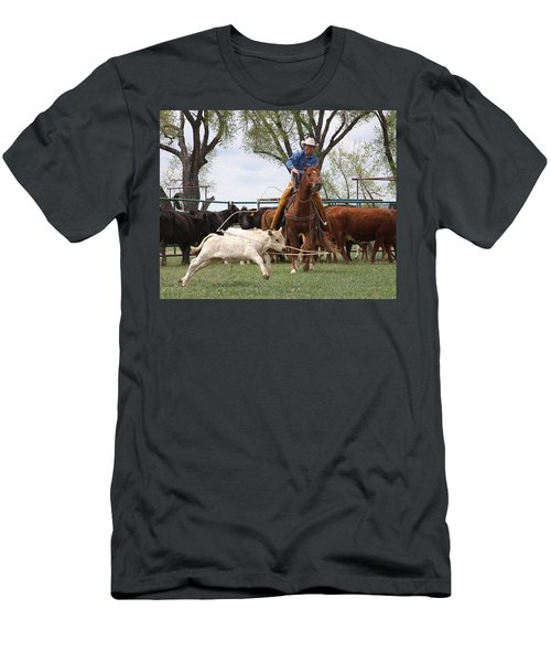 Wyoming Branding Men's T-Shirt (Athletic Fit)